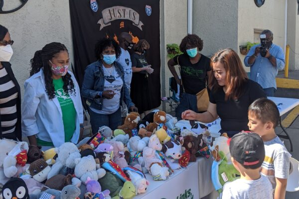 Kids Mask Up Day by Wellspring Second Chance center