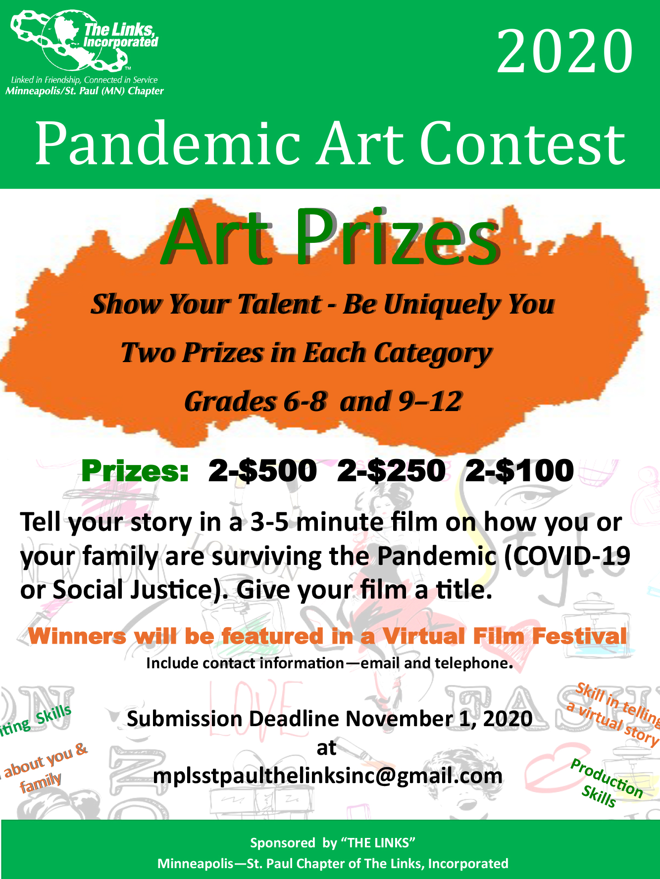Links Pandemic Art Contest